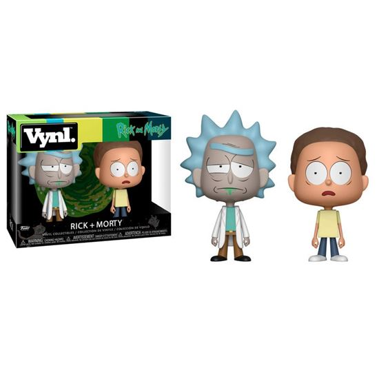Picture of Rick y Morty Pack de 2 VYNL Vinyl Figuras Rick & Morty 10 cm