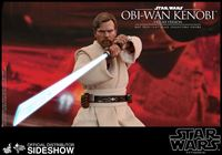Picture of Star Wars Episode III Figura Movie Masterpiece 1/6 Obi-Wan Kenobi Deluxe Version 30 cm