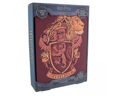 Picture of Cuadro con Luz Gryffindor - Harry Potter