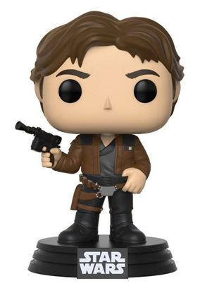 Picture of Star Wars Solo Figura POP! Movies Vinyl Cabezón Han Solo 9 cm