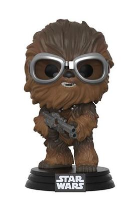 Picture of Star Wars Solo Figura POP! Movies Vinyl Cabezón Chewbacca with Goggles 9 cm