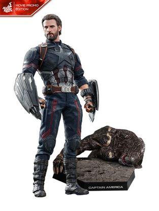 Picture of Vengadores Infinity War Figura Movie Masterpiece 1/6 Captain America Movie Promo Edition 31 cm
