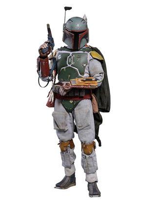 Picture of Star Wars Episodio V Figura Movie Masterpiece 1/6 Boba Fett Deluxe Version 30 cm