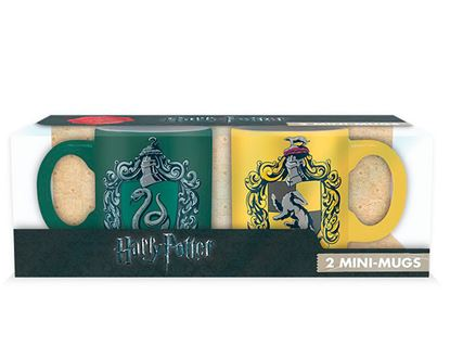 Picture of Harry Potter Set Tazas Café Slytherin Hufflepuf
