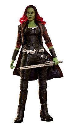 Picture of Guardianes de la Galaxia Vol. 2 Figura Movie Masterpiece 1/6 Gamora 28 cm