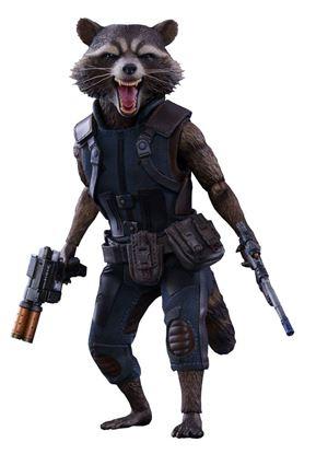 Picture of Guardianes de la Galaxia Vol. 2 Figura Movie Masterpiece 1/6 Rocket Raccoon 16 cm