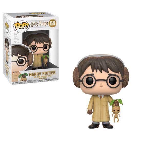 Picture of Harry Potter POP! Movies Vinyl Figura Harry Potter (Herbology) 9 cm