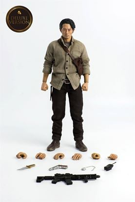 Picture of The Walking Dead Figura 1/6 Glenn Rhee Deluxe Version 29 cm