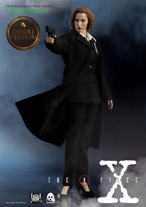 Picture of Expediente X Figura 1/6 Agent Scully Deluxe Version 28 cm