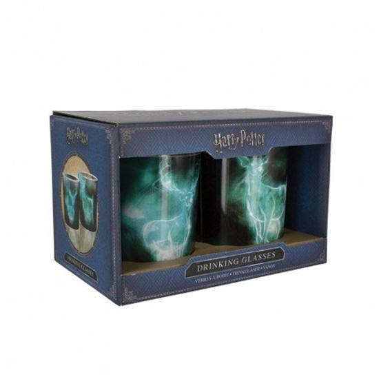 Picture of Harry Potter Set 2 Vasos Patronus