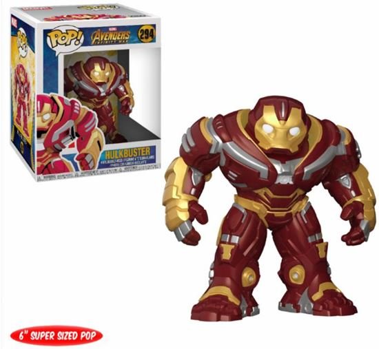 Picture of Avengers Infinity War Figura Oversized POP! Movies Vinyl Hulkbuster 15 cm