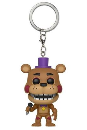 Picture of Llavero Pocket POP! Vinyl Rockstar Freddy 4 cm
