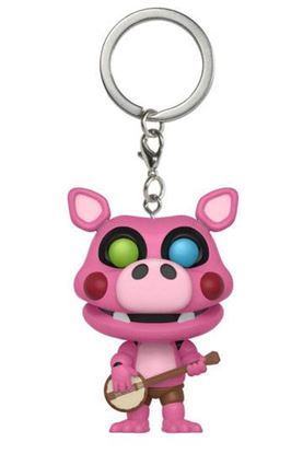 Picture of Five Nights at Freddy's Pizzeria Simulator Llavero Pocket POP! Vinyl Pigpatch 4 cm
