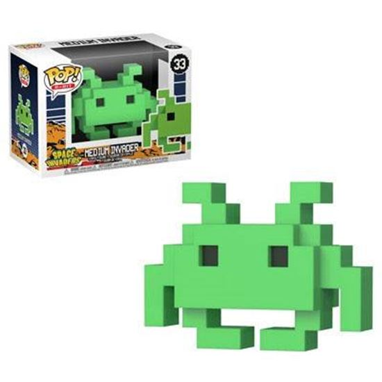 Picture of Space Invaders POP! 8-Bit Vinyl Figura Medium Invader 9 cm.