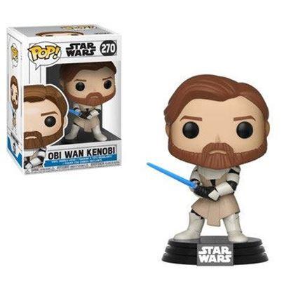 Picture of Star Wars Clone Wars POP! Vinyl Cabezón Obi Wan Kenobi 9 cm