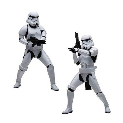 Picture of Star Wars Pack de 2 Estatuas ARTFX+ Army Builder Stormtroopers 18 cm