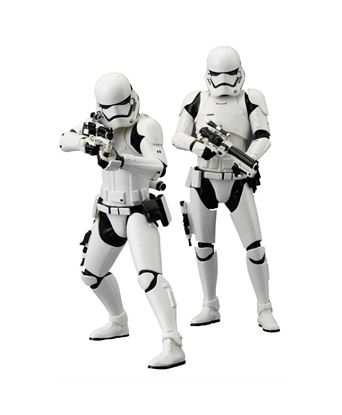 Picture of Star Wars Episode VII Pack de 2 Estatuas ARTFX+ First Order Stormtrooper 18 cm