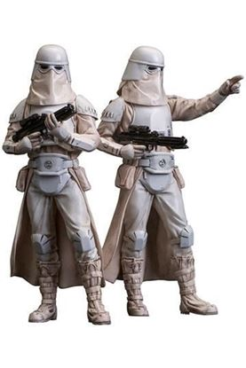 Picture of Star Wars Pack de 2 Estatuas ARTFX+ Snowtrooper 18 cm