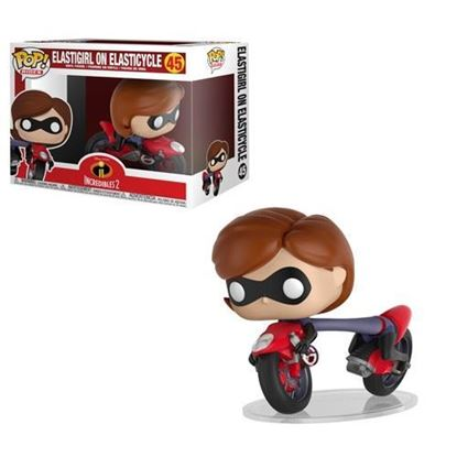 Picture of Los Increíbles 2 POP! Rides Vinyl Figura Elastigirl on Elasticycle 15 cm