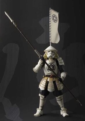 Picture of Star Wars Samurai Yari Ashigaru Stormtrooper Figura 18 CM  Meisho Movie Realization