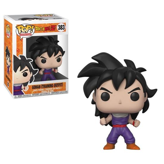 Picture of Dragonball Z Figura POP! Animation Vinyl Son Gohan (Training Outfit) 9 cm
