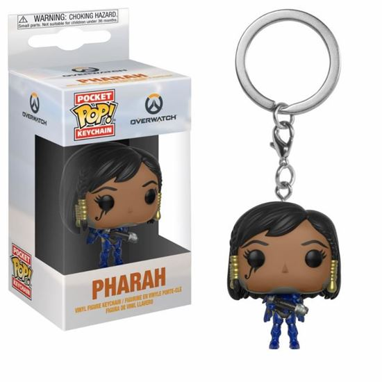 Picture of Overwatch Llavero Pocket POP! Vinyl Pharah 4 cm