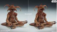Picture of Star Wars Episode VI Figura 1/6 Jabba the Hutt & Throne Deluxe 34 cm