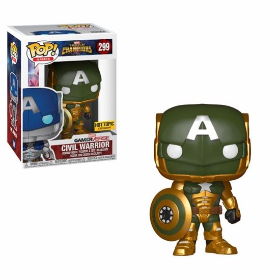 Picture of FIGURA POP MARVEL COC: CIVIL WARRIOR GREEN. DISPONIBLE APROX: OCTUBRE 2018