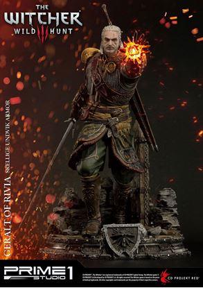 Picture of Witcher 3 Wild Hunt Estatua 1/4 Geralt of Rivia Skellige Undvik Armor 58 cm