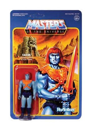 Picture of Masters del Universo ReAction Figura Faker 10 cm