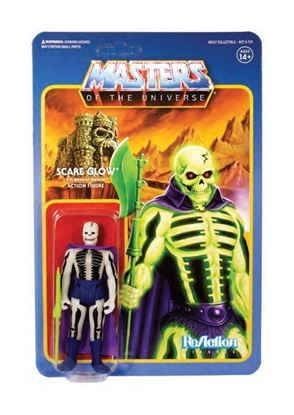 Picture of Masters del Universo ReAction Figura Scare Glow 10 cm