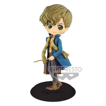 Picture of Figura Q Posket Newt Scamander (Pearl Colour Version) 14 cm