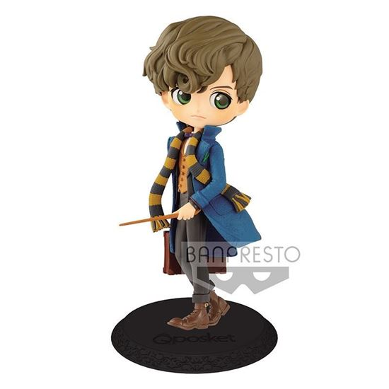 Picture of Figura Q Posket Newt Scamander (Normal Colour Version) 14 cm