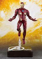 Picture of Vengadores Infinity War Figura S.H. Figuarts Iron Man MK 50 & Tamashii Stage 16 cm