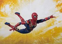 Picture of Vengadores Infinity War Figura S.H. Figuarts Iron Spider & Tamashii Stage 14 cm