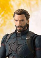 Picture of Vengadores Infinity War Figura S.H. Figuarts Captain America & Tamashii Effect Explosion 16 cm