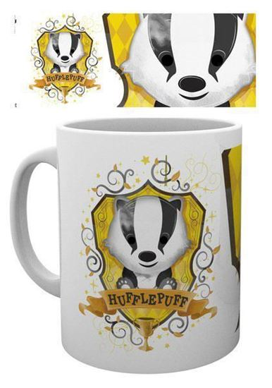 Picture of Harry Potter Taza Hufflepuff Paint