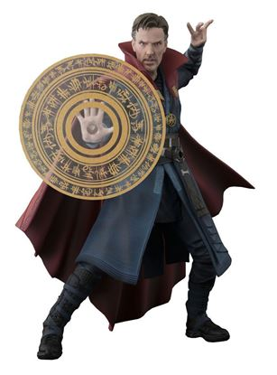 Picture of Doctor Extraño Figura S.H. Figuarts Doctor Strange & Burning Flame Set 15 cm