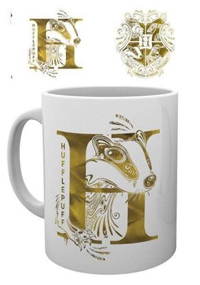 Picture of Harry Potter Taza Hufflepuff Monogram