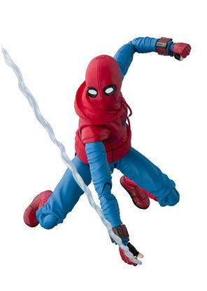 Picture of Spider-Man Homecoming Figura S.H. Figuarts Spider-Man Homesuit & Option Act Wall 15 cm