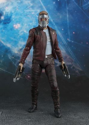 Picture of Guardianes de la Galaxia Vol. 2 Figura S.H. Figuarts Star-Lord & Explosion 17 cm