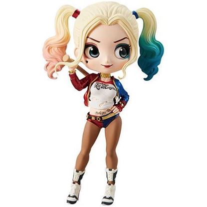 Picture of Figura Q Posket Harley Quinn (Normal Colour Version) 14 cm