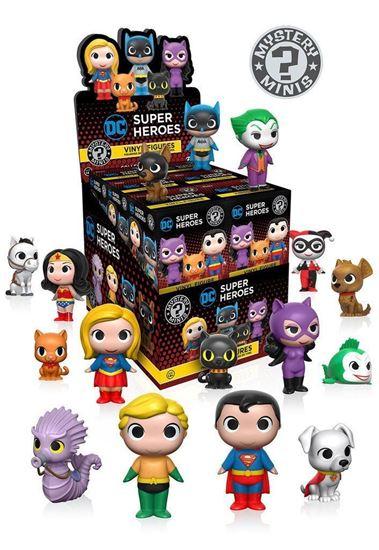Picture of DC Comics Heroes & Pets Minifiguras Mystery Minis 5 cm PRECIO POR CAJA INDIVIDUAL DE 5CM