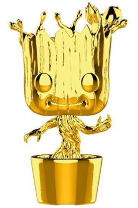Picture of Marvel Studios 10 POP! Marvel Vinyl Figura Groot (Chrome) 9 cm