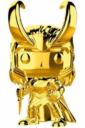 Picture of Marvel Studios 10 POP! Marvel Vinyl Figura Loki (Chrome) 9 cm.
