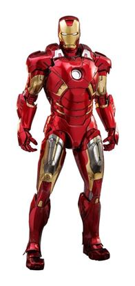 Picture of Marvel Los Vengadores Figura Diecast Movie Masterpiece 1/6 Iron Man Mark VII 32 cm