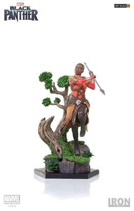 Picture of Black Panther Estatua Battle Diorama Series 1/10 Okoye 23 cm