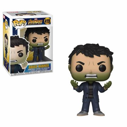 Picture of Avengers Infinity War Figura POP! Movies Vinyl Bruce Banner 9 cm