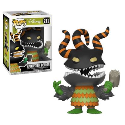 Picture of Pesadilla antes de Navidad Figura POP! Movies Vinyl Harlequin Demon 9 cm