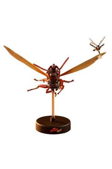 Picture of Ant-Man & The Wasp Diorama MMS Compact Series Ant-Man on Flying Ant and the Wasp 11 cm